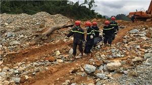 Tìm thấy thêm một thi thể công nhân bị vùi lấp ở thủy điện Rào Trăng 3