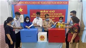 Cử tri Thành phố Hồ Chí Minh đi bỏ phiếu đạt 99,38%