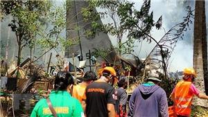 Vụ máy bay rơi ở Philippines: Số người thiệt mạng đã lên tới 29 người