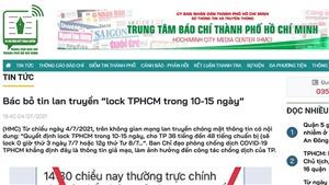 Bác bỏ thông tin 'đóng cửa' Thành phố Hồ Chí Minh trong 10-15 ngày