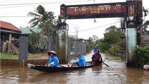 Tối 17/10- 18/10, khu vực từ Nam Nghệ An đến Thừa Thiên - Huế có mưa to đến rất to