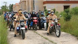 Tỉnh Đồng Tháp đã đón hơn 38.000 người dân về từ vùng dịch