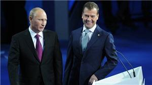 Tổng thống Putin đề cử ông D.Medvedev vào chức Thủ tướng nhiệm kỳ mới