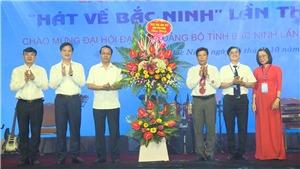 Chung kết Liên hoan âm nhạc 'Hát về Bắc Ninh' lần thứ 2: Thí sinh Nguyễn Hải Ninh xuất sắc giành giải Nhất
