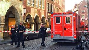 Đâm xe tại Đức: Lái xe tự sát bằng súng, ít nhất 4 người thiệt mạng
