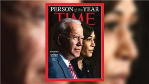 Tổng thống đắc cử Mỹ Joe Biden và Phó Tổng thống đắc cử Kamala Harris được tạp chí Time bầu là 'Nhân vật của năm'