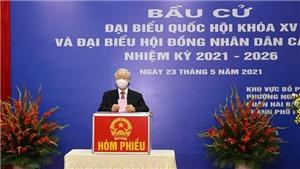 Tổng Bí thư Nguyễn Phú Trọng: Đất nước sẽ bước vào giai đoạn phát triển mới, đáp ứng nguyện vọng của cử tri