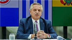 Dịch Covid-19: Argentina xác nhận Tổng thống A. Fernandez dương tính với virus SARS-CoV-2