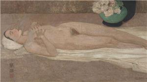 CỰC SỐC: Hai tranh khỏa thân của Lê Phổ bán hơn 44 tỷ đồng