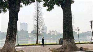 Những hình ảnh tĩnh lặng hiếm thấy trong hơn 300 ngày mỗi năm ở Hồ Gươm