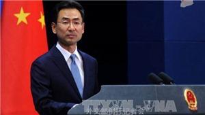 Trung Quốc cực lực phản đối các biện pháp trừng phạt của Mỹ