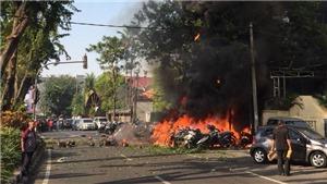 Thương vong trong vụ đánh bom liều chết liên hoàn ở Indonesia tăng lên hơn 50 người