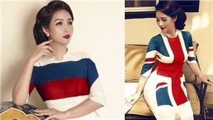 Chị em Mai Thu Huyền 'nóng' cùng World Cup với áo dài quốc kỳ của 32 quốc gia