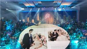Không gian lộng lẫy nơi tổ chức hôn lễ Á hậu Tú Anh