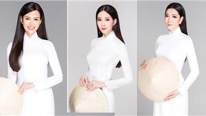 30 năm Hoa hậu Việt Nam: Ngắm trọn dàn mỹ nữ 'không tuổi' đọ sắc trong tà áo dài trắng