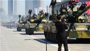 Toàn cảnh lễ diễu binh kỷ niệm 70 năm Quốc khánh Triều Tiên