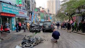Xác định danh tính tài xế 'xe điên' đâm liên hoàn trên phố Ngọc Khánh