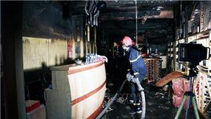 Hải Phòng: Cháy khách sạn, một người tử vong