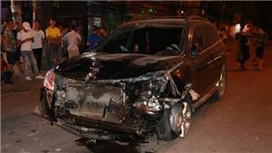 Khởi tố vụ án vụ đâm xe liên hoàn tại đường Láng