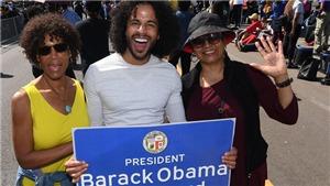 Một thành phố Mỹ lấy tên cựu Tổng thống Obama đặt tên cho tên đường