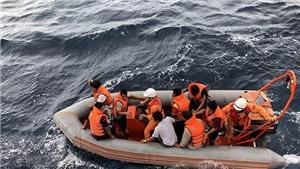 6 giờ ngày 10/7 sẽ đưa ro-bot lặn tìm kiếm chín ngư dân tàu cá NA 95899 TS