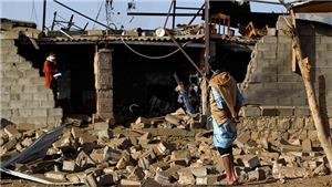 Liên quân Arab không kích trúng nhà dân, nhiều trẻ em Yemen thiệt mạng