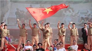 Kỷ niệm 65 năm Ngày Giải phóng Thủ đô: Tái hiện Lễ chào cờ lịch sử trong Ngày Giải phóng Thủ đô