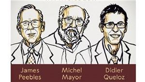 Nobel 2019: Giải Nobel Vật lý vinh danh những khám phá mở ra cuộc cách mạng trong lĩnh vực thiên văn