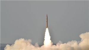 Pakistan thử tên lửa mang đầu đạn hạt nhân có tầm bắn 650 km