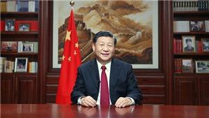 Chủ tịch Trung Quốc Tập Cận Bình đọc thông điệp chúc mừng năm mới 2020