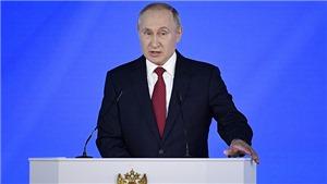 Tổng thống Nga Putin đọc Thông điệp liên bang năm 2020