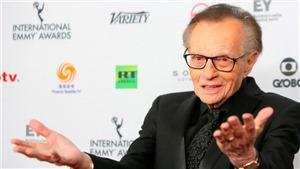 Huyền thoại ngành truyền hình Mỹ Larry King qua đời vì Covid-19
