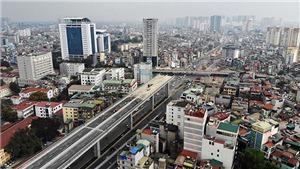 Hà Nội sắp hoàn thành mở rộng đường vành đai 2 đoạn cầu Vĩnh Tuy – Ngã Tư Vọng