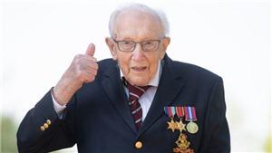 Nước Anh tiễn biệt cụ ông 100 tuổi gây quỹ 33 triệu bảng chống Covid-19
