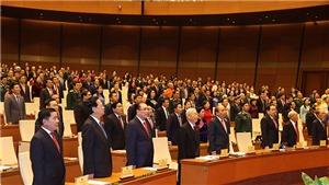 Kỳ họp thứ 11, Quốc hội khóa XIV: Thông cáo báo chí số 1