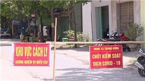Dịch Covid-19: Huyện Yên Mỹ (Hưng Yên) thực hiện giãn cách xã hội theo Chỉ thị 16 của Chính phủ