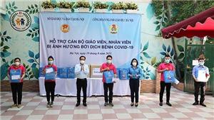 Ngành Giáo dục Thủ đô Hà Nội chia sẻ khó khăn với cán bộ, giáo viên, nhân viên