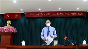 Chủ tịch UBND TP.HCM Phan Văn Mãi: Chung sức, đồng lòng sớm đưa thành phố vượt qua khó khăn