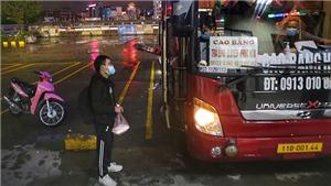 Chuyến xe khách liên tỉnh đầu tiên tại bến xe Mỹ Đình sau hơn 2 tháng đóng cửa