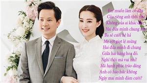 Hoa hậu Đặng Thu Thảo: 'Anh có háo hức không. Ngày mai mình đám cưới?'