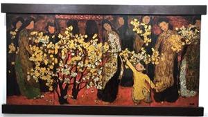 Triển lãm mỹ thuật 'Giao lưu' lần thứ  5 tại Đại học Mỹ thuật Việt Nam