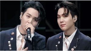 Suga BTS thoả mãn người hâm mộ với kiểu tóc ARMY mơ ước bấy lâu