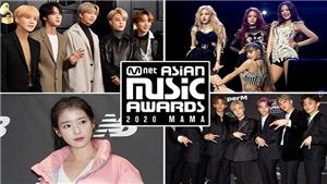 MAMA 2020: BTS nhận cup mỏi tay, Blackpink và Twice mãi mới có tên