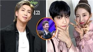 RM BTS không thể giấu được biểu cảm 'ông bố hạnh phúc' khi nhìn Soobin TXT
