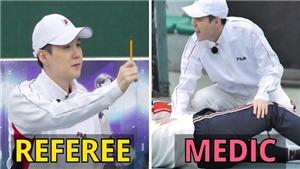7 vai trò siêu hài của Suga khi không thể chơi tennis cùng BTS
