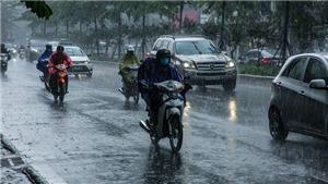 Bắc Bộ và Bắc Trung Bộ mưa to và dông, đề phòng thời tiết nguy hiểm