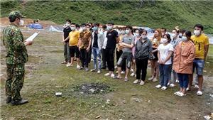 Cao Bằng xử lý 53 người Việt nhập cảnh trái phép