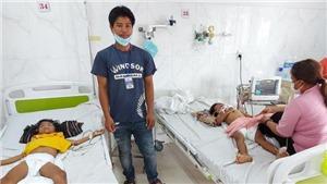 Hai cháu bé bị chấn thương sọ não trong vụ sập tường lò gạch tại Đắk Lắk