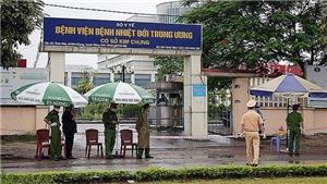 Bệnh viện Bệnh Nhiệt đới Trung ương cơ sở Kim Chung kết thúc 21 ngày cách ly