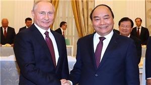 Chủ tịch nước Nguyễn Xuân Phúc gửi thư tới Tổng thống Liên bang Nga Vladimir Putin